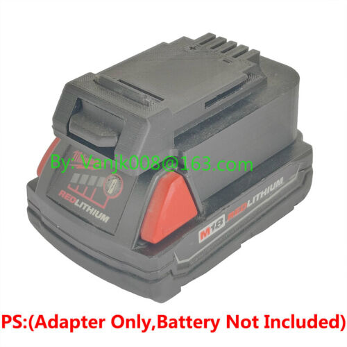 1PCS PORTER-CABLE 20V MAX CORDLESS TOOLS Adapter Work with Milwaukee M18 Battery