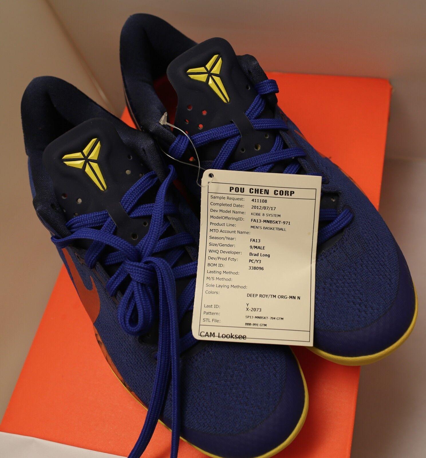 Nike Kobe VIII 8 Promo Sample Sz 9 looksee PE