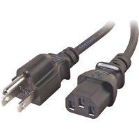 Viewsonic Va703b Lcd Ac Power Cord Cable Plug Black