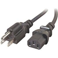 Acer Al1702wb Lcd Ac Power Cord Cable Plug Black
