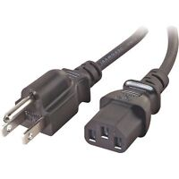 Aoc 917sw Lcd Ac Power Cord Cable Plug Black
