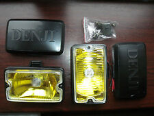 Peugeot 205 GTI driving lights lamps NEW YELLOW LENSE DIMMA XS FREE COVERS