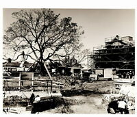 Vintage DISNEY WORLD CONSTRUCTION 8x10 PHOTO, LIBERTY SQUARE UNDER CONSTRUCTION