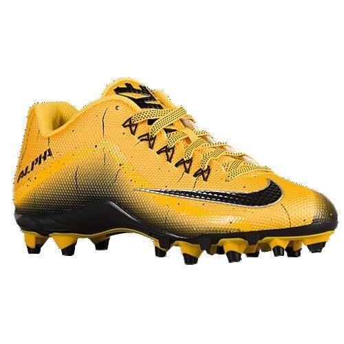 New Men's Nike Alpha Pro 2 TD Football Cleats Varsity Maize 719925 700 Size 13