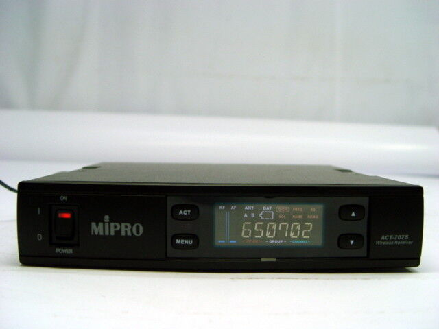 Mipro ACT-707S II Wireless Microphone Receiver