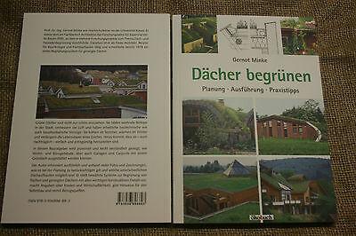 Fachbuch Dachbegrünung, Gründach, Bauanleitung, Dachdecker, Dachgarten, neu 2016