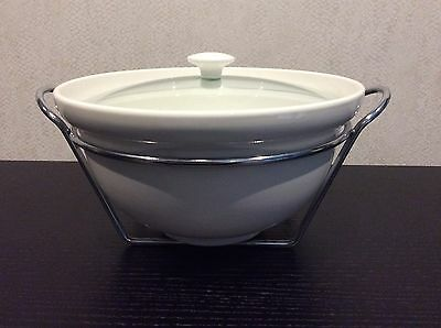 Large 4 Litre Casserole Dish With Stand By Maxwell Williams/bnib Bakeware & Ovenware Cookware, Dining & Bar