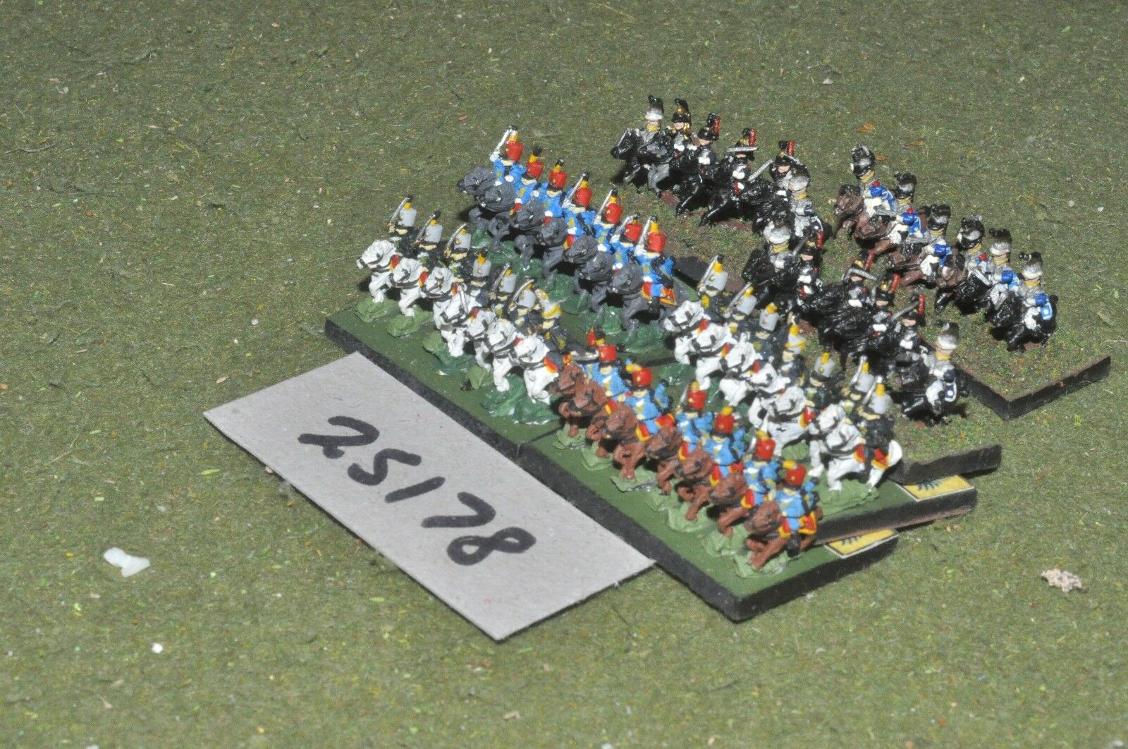 6mm napoleonic   generic - adler battle group 40 figures - cav (25178)