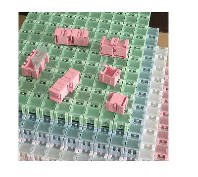 10pcs SMT SMD Kit Components Boxes Laboratory Storage Boxes