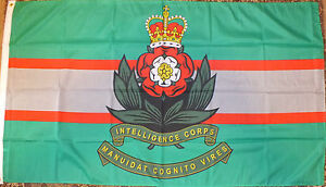 Intelligence-Corps-Flag-5x3-British-Army-Banner-MI5-MI6-Spy-Heraldic-UK-Military