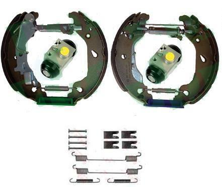 PUNTO 1.2 REAR BRAKE SHOE ADJUSTER  AND WHEEL CYLINDER SHOES KIT WITH  ABS 03 ON