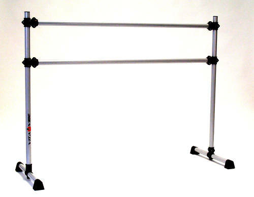 environ 1.22 m Portable Double Barre-Stretch//Dance Bar-Vita Vibe NEUF Ballet Barre BD48 4 ft