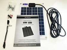 10W FLEXI PV SOLAR PANEL KIT WITH CELL DIODE - WEATHER RESISTANT - STRONG CABLE