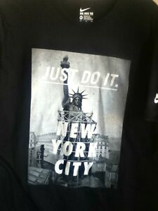 York 914292 De Nike New Statue La T Shirt Liberté Authentique Noir 47qaEwx4