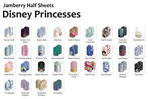 Jamberry-DISNEY-PRINCESSES-Nail-Wraps-Half-Sheet-FREE-SHIPPING