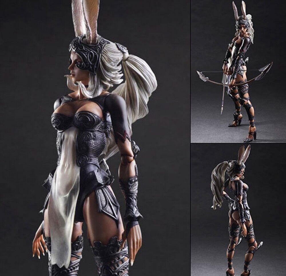 Square Enix Play Arts Kai Final Fantasy XII  Fran Action figure Japan AUTH