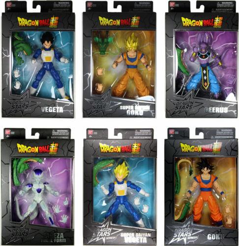 GOKU VEGETA BEERUS FRIEZA NIB Dragon Ball Stars Figures Wave 1 /& 2 BAF SHENRON