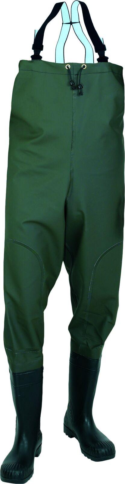 Watstiefel Angel Wathose mit Stiefel Fischerstiefel Hüftstiefel Teichhose    Schöne Farbe