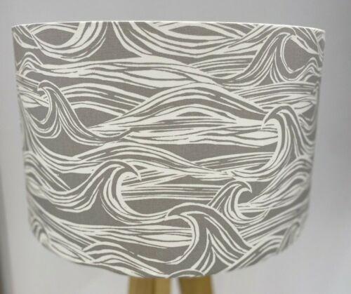 Handmade Studio G Surf Grey Lampshade-Coastal-Waves-Beach