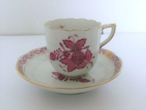 Herend Purpur indische Blume Teetasse