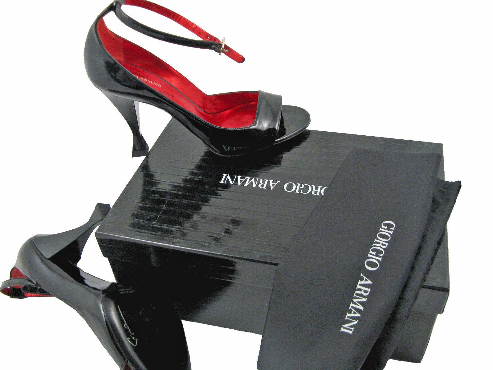 NEW  795 Giorgio Armani shoes (Heels)   US 8.5 e 38.5   Black Patent Leather