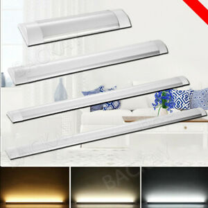 Details About Led Batten Light Line 1ft 2ft 3ft4ft Bar Garage Lighting Ceiling Lamp Uk
