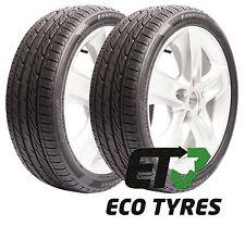 2X Tyres 245 45 ZR18 96Y Delinte DH6 RFT ROF SSR Run Flat E B 69dB