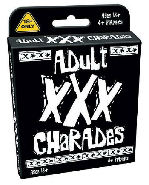 Adult Party Charades Game - All The Fun Of Charades But With A Naughty Twist - T