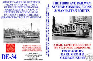manhattan dvd  DVD: Third Ave Trolley Yonkers Bronx & Manhattan Routes | eBay