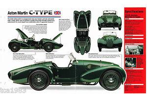 1938 1939 1940 Aston Martin C Type Imp Brochure Ebay