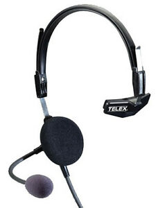 Telex Airman 750 Single Sided Headset 64300 300 Ebay