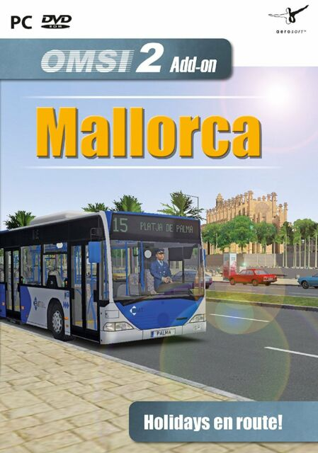OMSI 2 - Add-On Scenery Mallorca (PC DVD) BRAND NEW SEALED