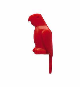 VERY RARE Minifig Animal Bird // Parrot LEGO Dark Brown