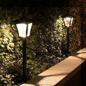 1-2m-Solar-Power-Outdoor-LED-Security-Lamp-Post-Light-Garden-Path-Driveway
