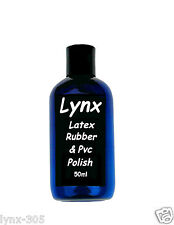 Lynx lattice di gomma e pvc-ULTRA SHINE - 50ml per solo £ 8.99 - GRATIS P + P