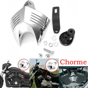 Chrome Horn Cover For Harley Davidson Softail Dyna Electra Glide Fatboy Ebay