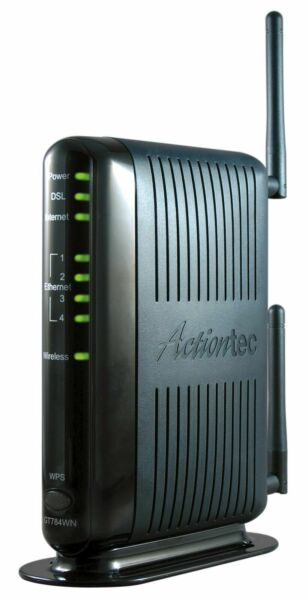 Actiontec (gt784wn-01) 300 Mbps Wireless-n Adsl Modem Router