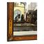 miniatura 2 - Specchiera francese, metà XX secolo, intarsi in legno e metallo, finiture bronzo