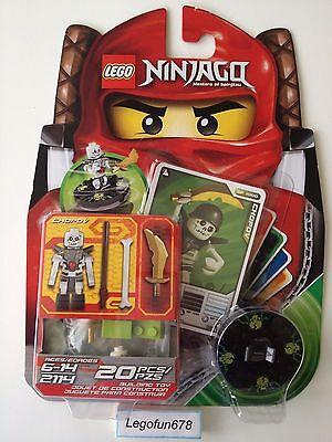 LEGO NINJAGO 2114 Chopov MiniFigures Lego 2114 NEW