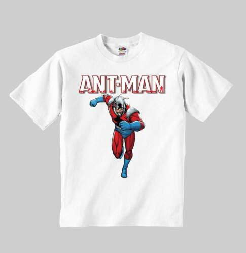 ant man t-shirt model:1 ANT MAN toddler clothing kid shirt for children size:1-8
