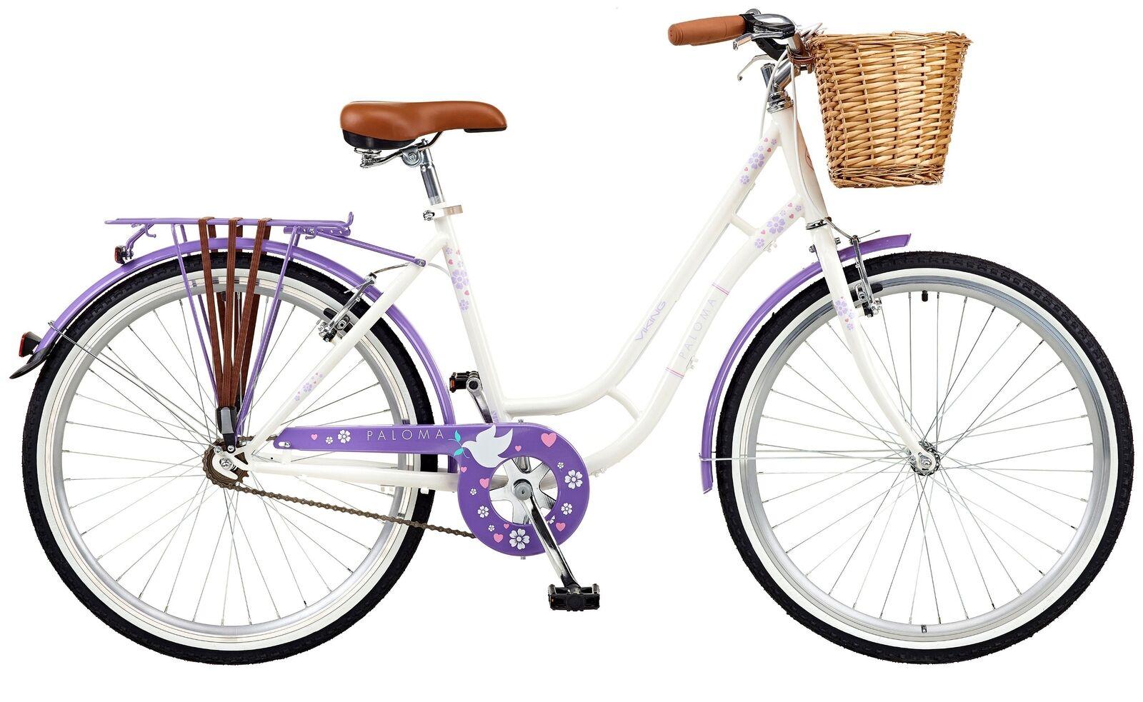 2018 Viking Paloma Mujer Bicicleta Holandesa Tradicional 26  Rueda Rueda Rueda e298f4