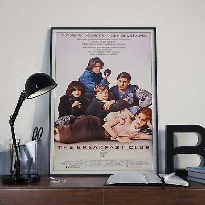 The Breakfast Club Movie Film Cinema Print Poster Picture A3 A4 80/'s Posters