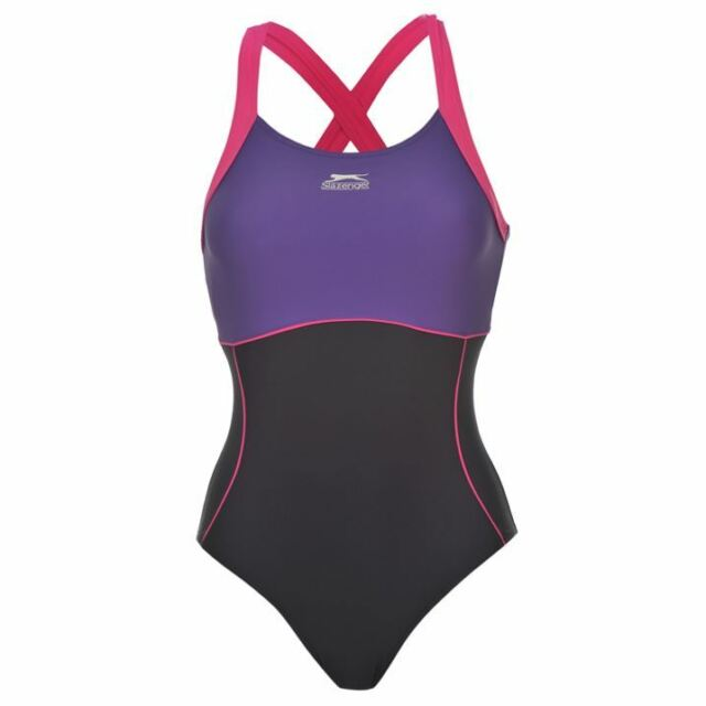2a11c389a0ae0 Slazenger Swimsuit Swim Swimming Suit 36 - 48 S - 4xl 44 (xxl) Navy ...