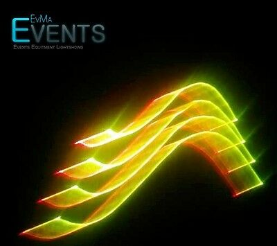 RGB 3D Laser 410 mW DMX