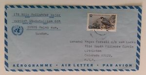 1978-UN-MISSION-SWEDEN-AMRMY-in-EGYPT-AIR-MAIL-Cover-from-BALUZA-Canada-Stm-k498