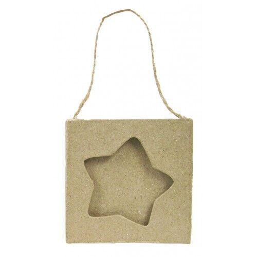 Decopatch Hanging Star Cadre Photo Décoration DECOUPIS papier mâché Craft