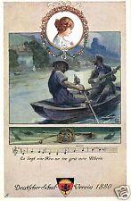 14446/ Künstlerkarte Deutscher Schulverein, Karte Nr. 91