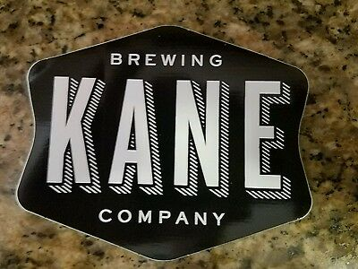 Ocean NJ Kane Brewery,craft beer brewing sticker logo