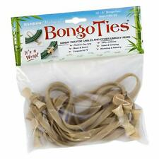 FREE BONGOTIES STICKER WITH EVERY PURCHASE 4 Packs of BongoTies® Natural Color