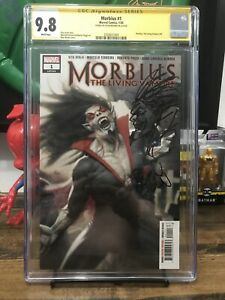 Morbius-1-Cgc-9-8-Signed-and-Sketch-By-Ryan-Brown-Morbius-movie-coming-soon